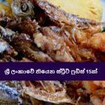 ශ්රී ලංකාවේ තියෙන ස්ට්රීට් ෆුඩ්ස් 15ක් - Fifteen Street Foods in Sri Lanka